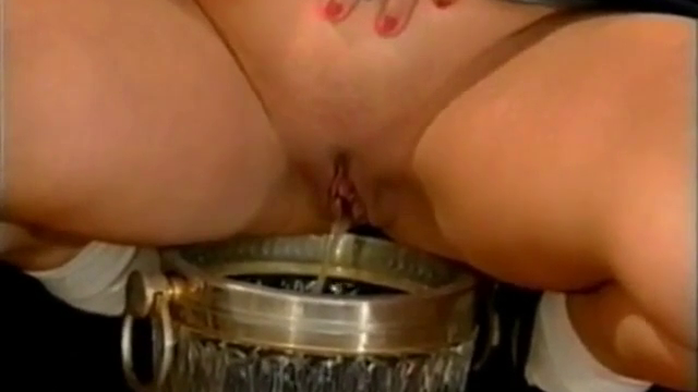 Classy Group Sex And Pissing Scene From Vintage Porn
